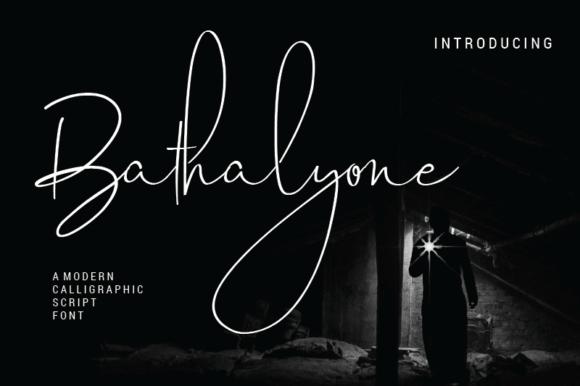 Bathalyone Font