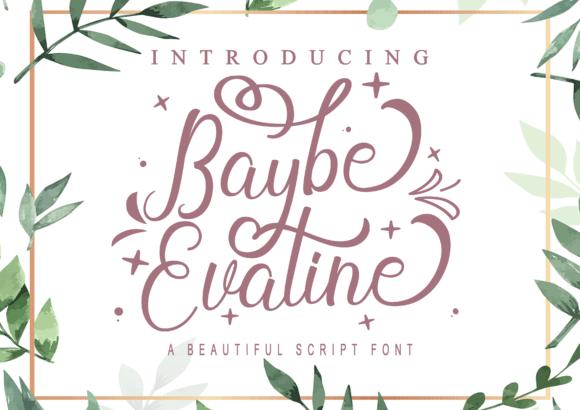 Baybe Evaline Font