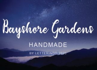 Bayshore Gardens Font