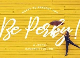 Be Perky Font