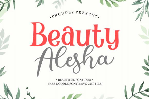 Beauty Alesha Font