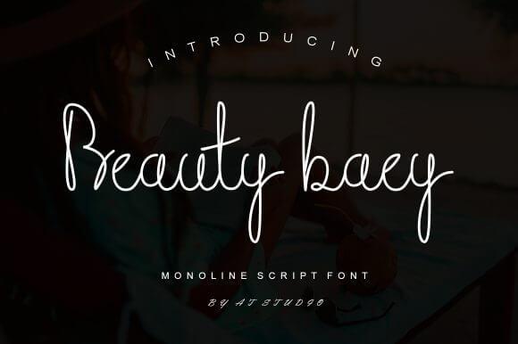 Beauty Baey Font