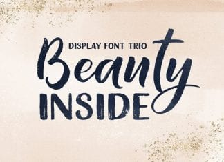 Beauty Inside Font