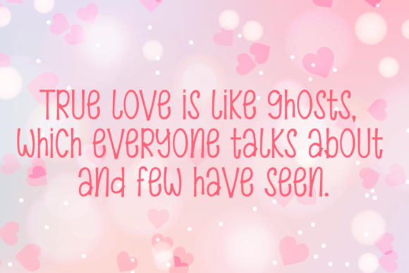Beauty Valentine Day Font