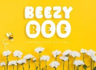 Beezy Bee - Handwritten Duo Font