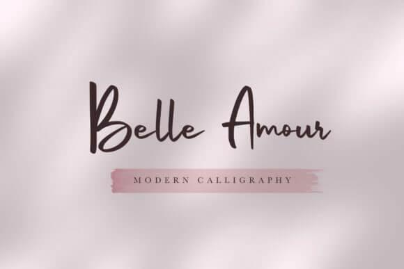 Belle Amour Font