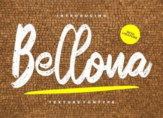 Bellona Texture Fontype