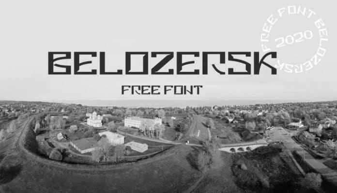 Belozersk - Free Font