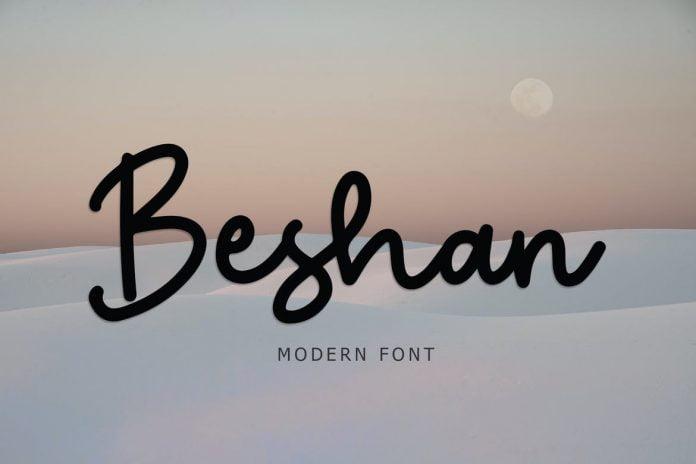 Beshan Modern Font