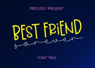 Best Friend Forever Font