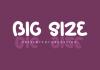 Big Size Font