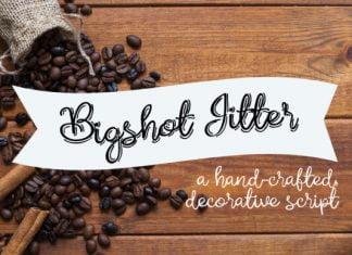 Bigshot Jitter Font