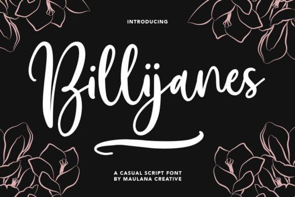 Billijanes Font