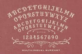 Bistern - Victorian Display Font