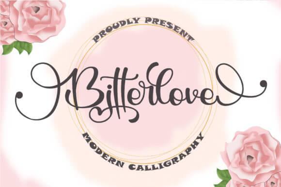 Bitterlove Font