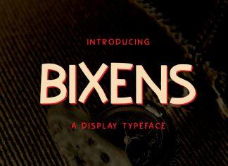 Bixens Font