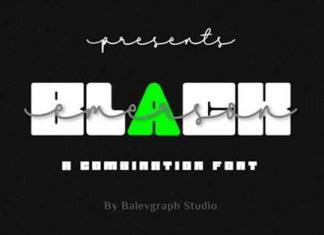 Black Emerson Font