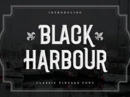 Black Harbour Font