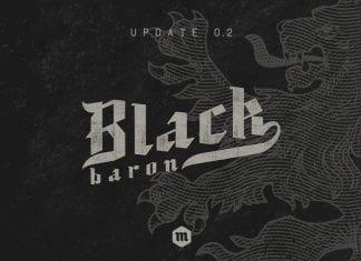 Black Baron Font