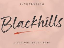 Blackhills Font