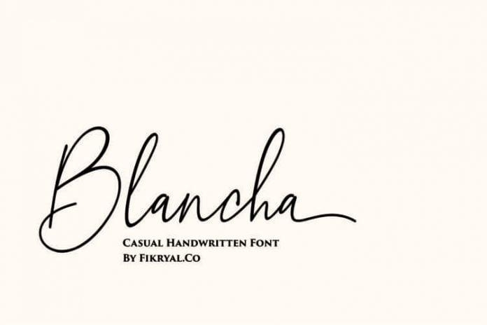 Blancha Font