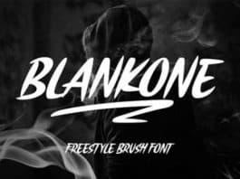 Blankone Font