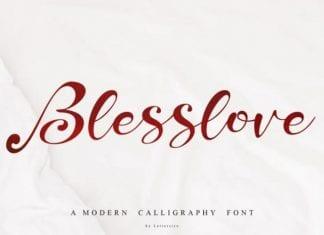 Blesslove Font