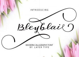 Bleyblai Font