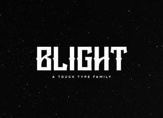 Blight Typeface Font