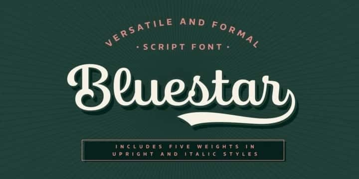Bluestar Font