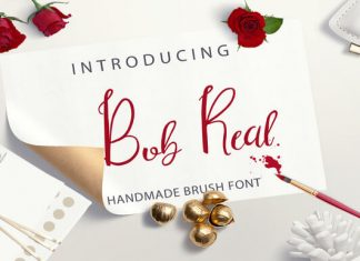 Bob Real Font