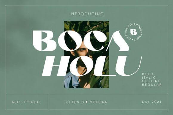 Boca Holu Font