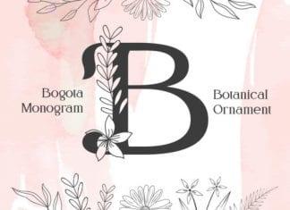 Bogota Monogram Font