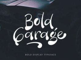 Bold Garage Font
