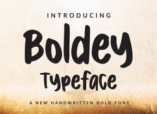Boldey Font