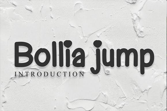 Bollia Jump Font
