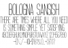 Bologna Sansish Font