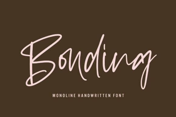 Bonding Font