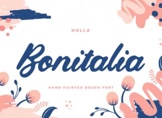 Bonitalia Font