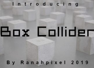 Box Collider Font