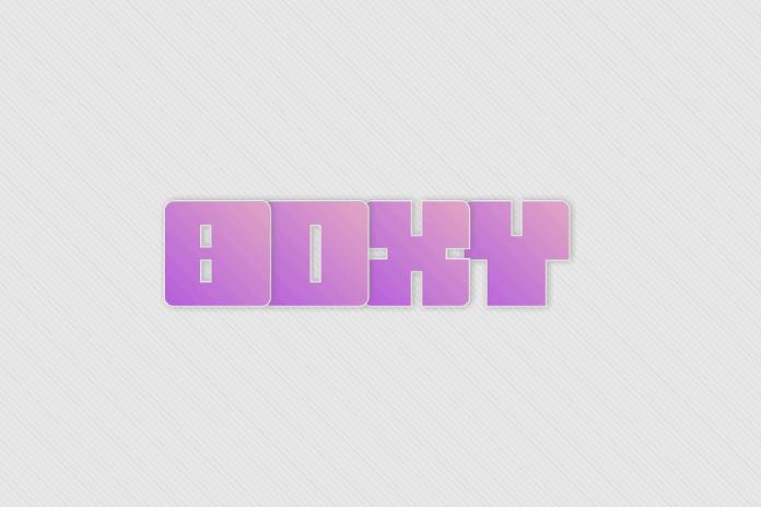 Boxy Font