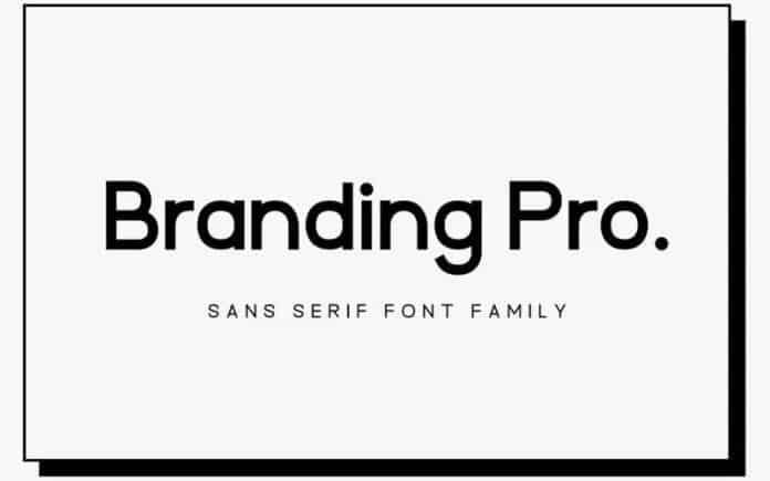 Branding Pro Font