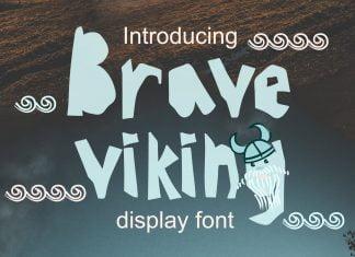 Brave Viking Font