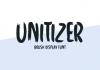 Unitizer Font
