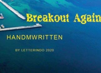 Breakout Again Font