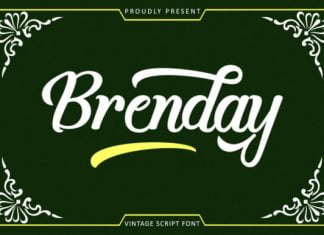 Brenday Font