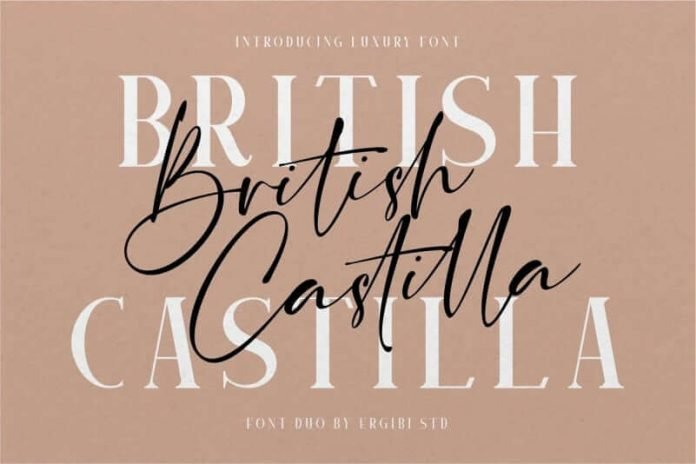 British Castilla Font