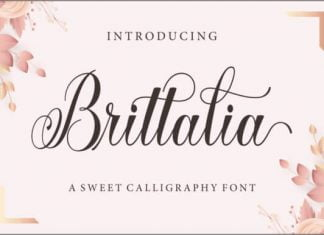 Brittalia Script Font