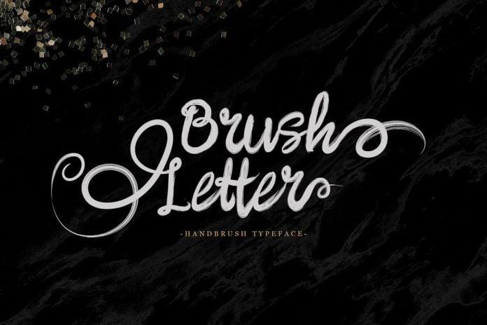 Brushletter - Handbrush Font