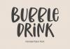 Bubble Drink Font
